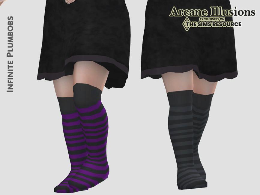 Носки для малышей Toddler Witches Socks Симс 4