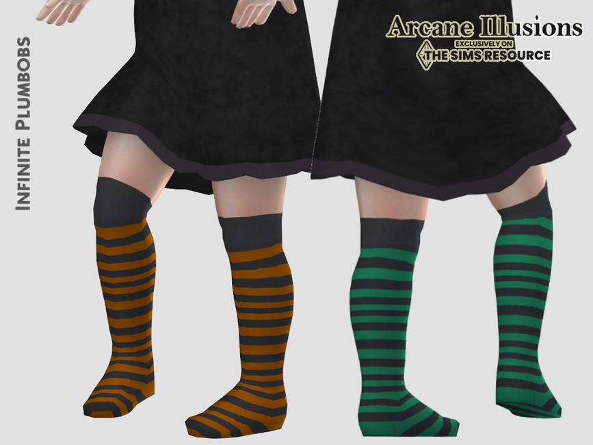 Носки для малышей Toddler Witches Socks Симс 4 (картинка 2)