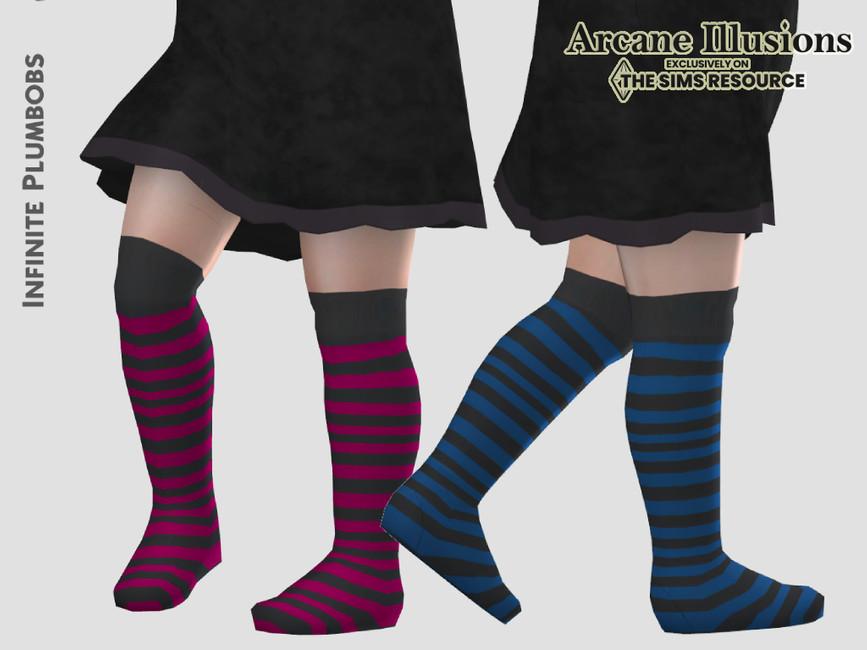 Носки для малышей Toddler Witches Socks Симс 4 (картинка 3)