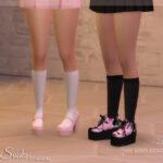 Носки Lola Socks Симс 4