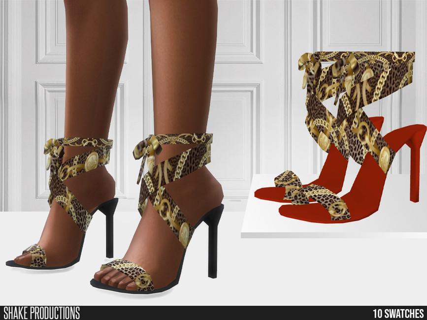 Обувь 754 - High Heels Симс 4