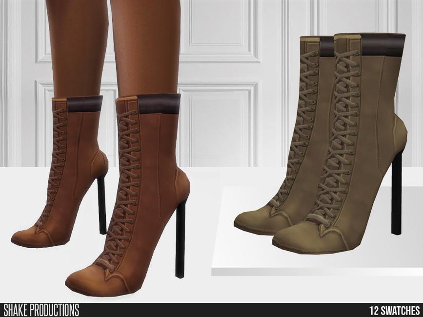 Обувь 758 - High Heels Симс 4