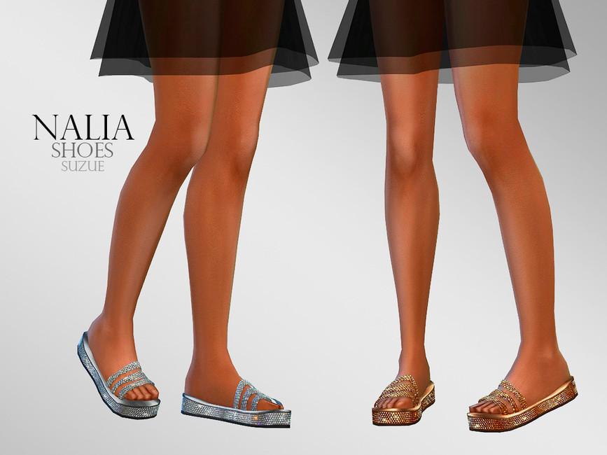 Обувь Nalia Shoes Симс 4