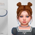 Ожерелье для малышей Anubia Necklace Toddler Симс 4