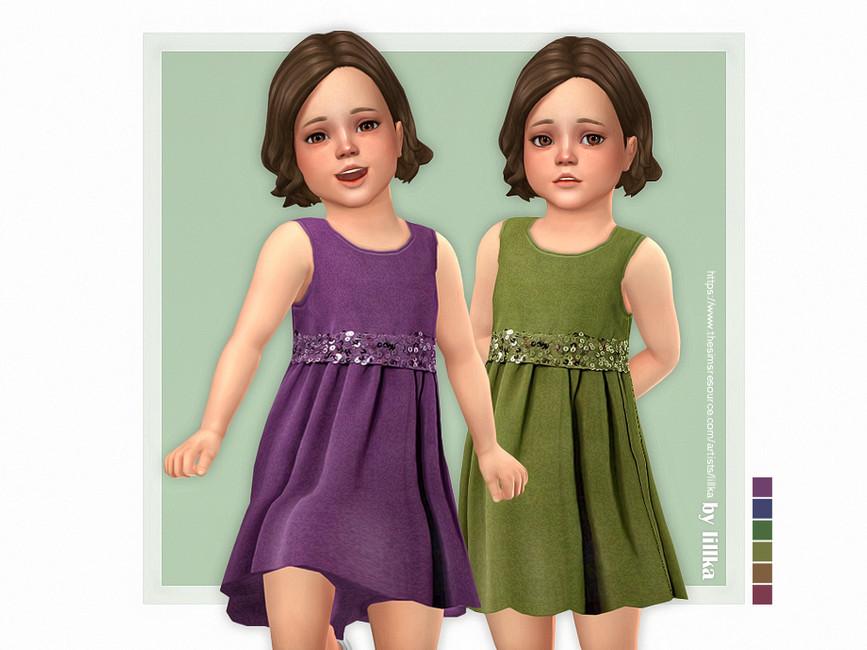 Платье Davina Dress Симс 4