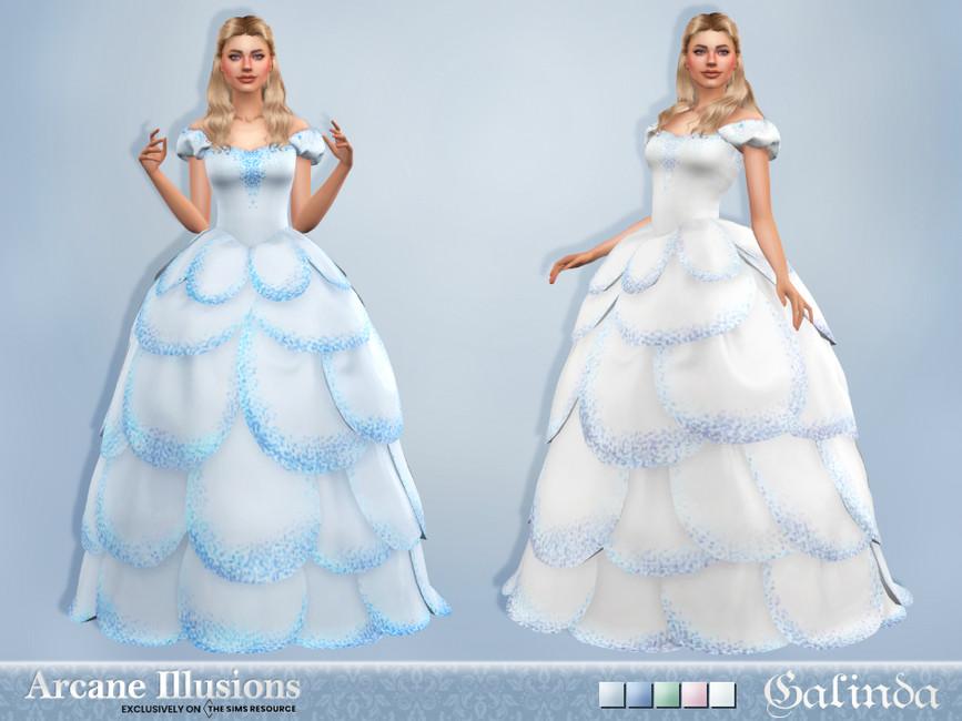 Платье Galinda Gown Симс 4