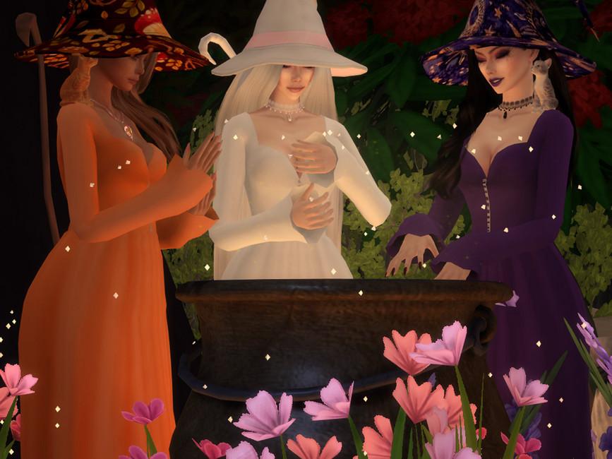 Платье Magic Dress Симс 4 (картинка 2)