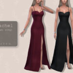 Платье Rachel Gown Симс 4