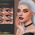 Подводка для глаз Witch Eyeliner Симс 4