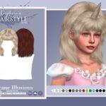 Прическа Arcane Illusions - Daydreamer (Child Hairstyle) Симс 4