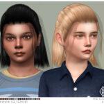 Прическа Jason Hairstyle v2 (Child) Симс 4