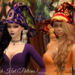 Шляпа ведьмы Симс 4