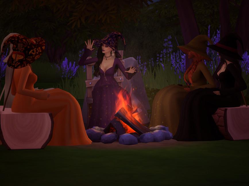 Шляпа ведьмы Симс 4 (картинка 3)