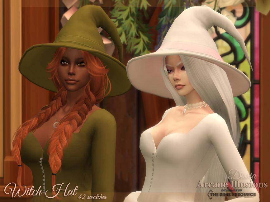 Шляпа Witch Hat Симс 4