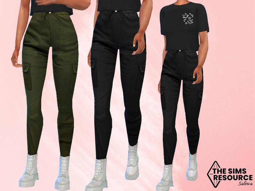 Штаны Camuflage Pants Симс 4