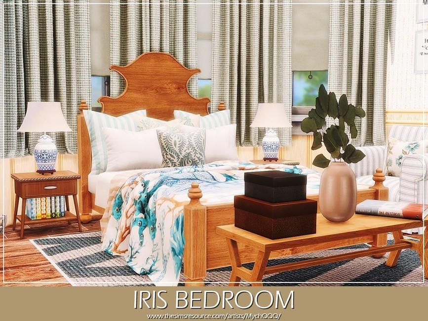 Спальня Iris Bedroom Симс 4