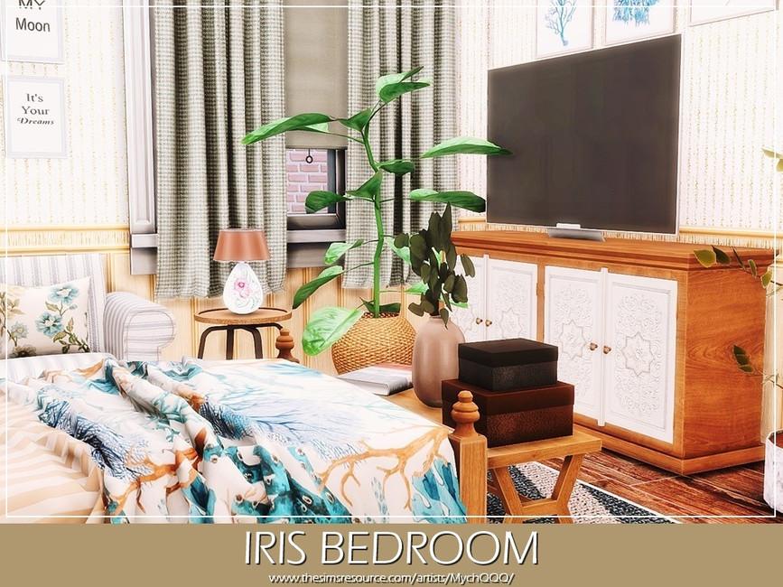 Спальня Iris Bedroom Симс 4 (картинка 2)