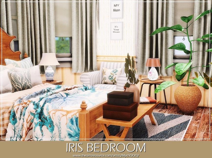 Спальня Iris Bedroom Симс 4 (картинка 3)