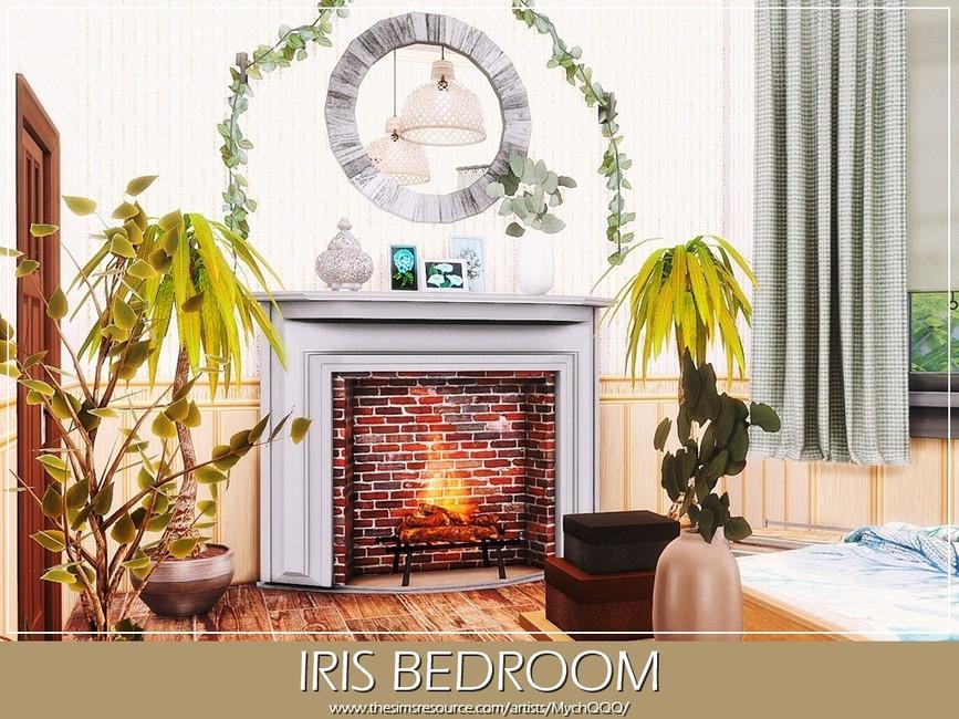 Спальня Iris Bedroom Симс 4 (картинка 4)