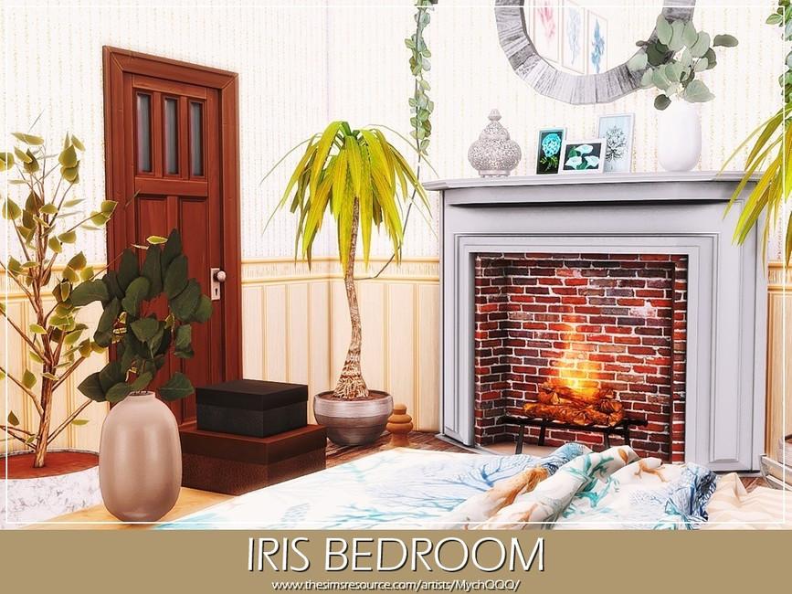 Спальня Iris Bedroom Симс 4 (картинка 5)