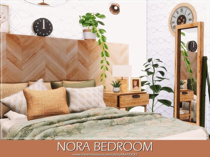 Спальня Nora Bedroom Симс 4 (картинка 2)