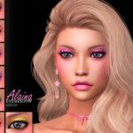 Тени для век Alaina Eyeshadow N16 Симс 4