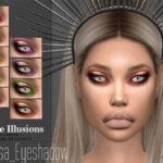 Тени для век Arcane Illusions Medusa Eyeshadow Симс 4