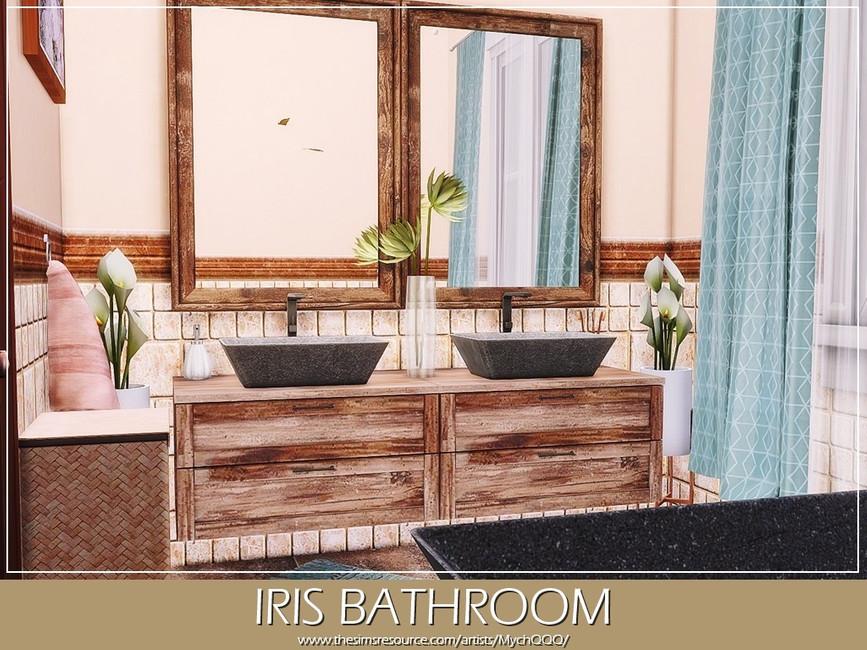 Ванная Iris Bathroom Симс 4