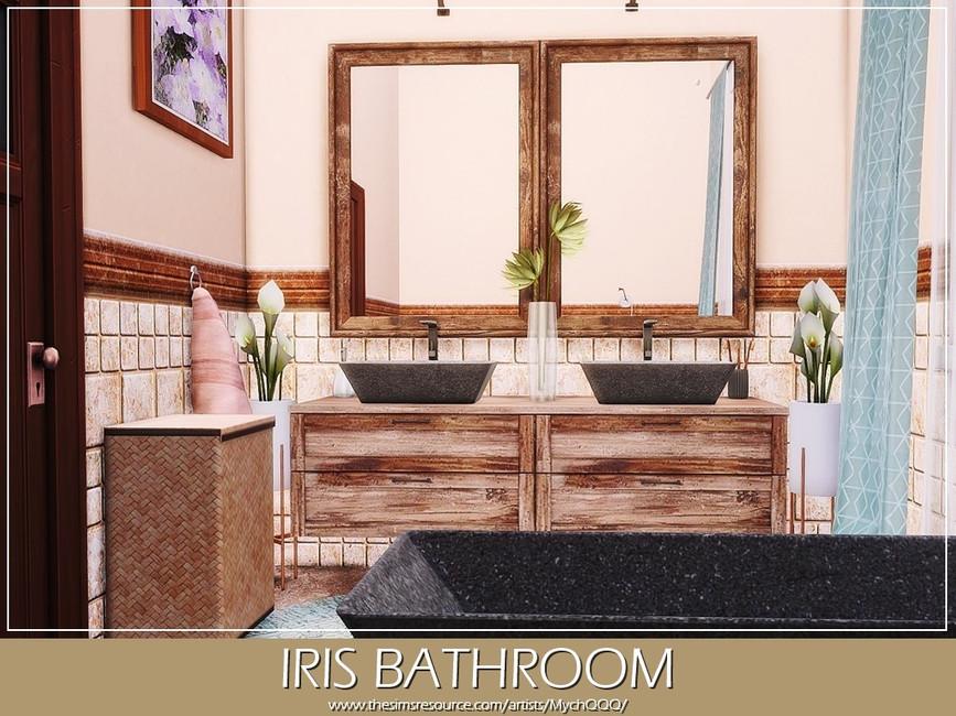 Ванная Iris Bathroom Симс 4 (картинка 2)