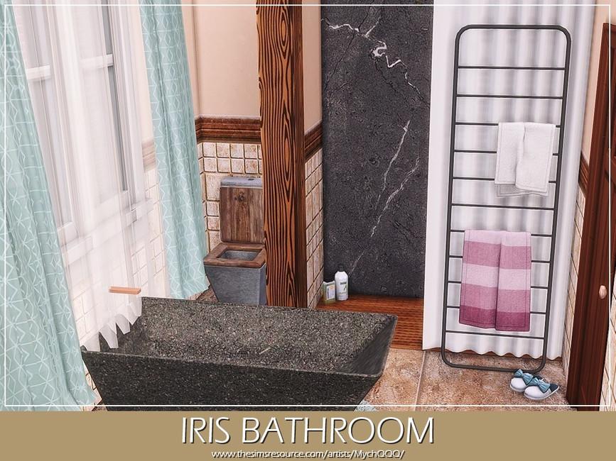Ванная Iris Bathroom Симс 4 (картинка 4)