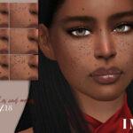Веснушки и родинки IMF Freckles and Moles N18 Симс 4