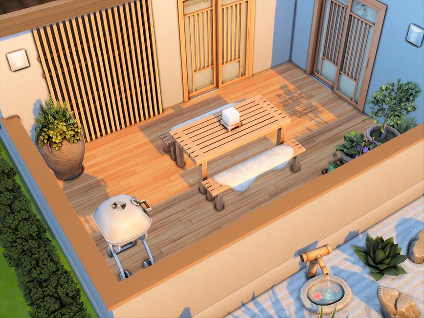 Загородный дом Симс 4 (картинка 2)
