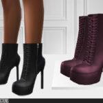 Женская обувь 760 - High Heels Симс 4