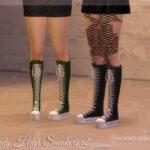 Женские кроссовки для Симс 4
