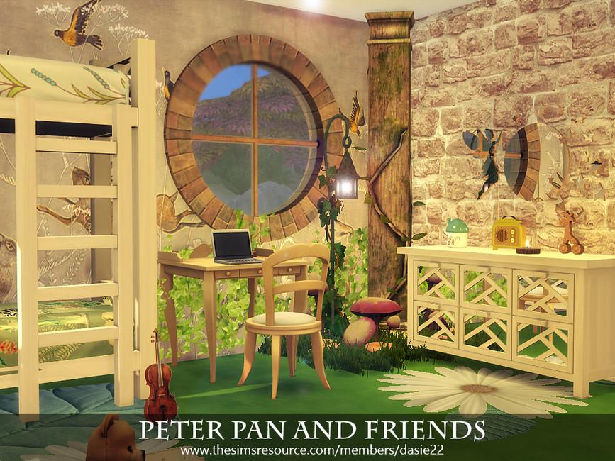 Детская комната Peter Pan and Friends Симс 4 (картинка 2)
