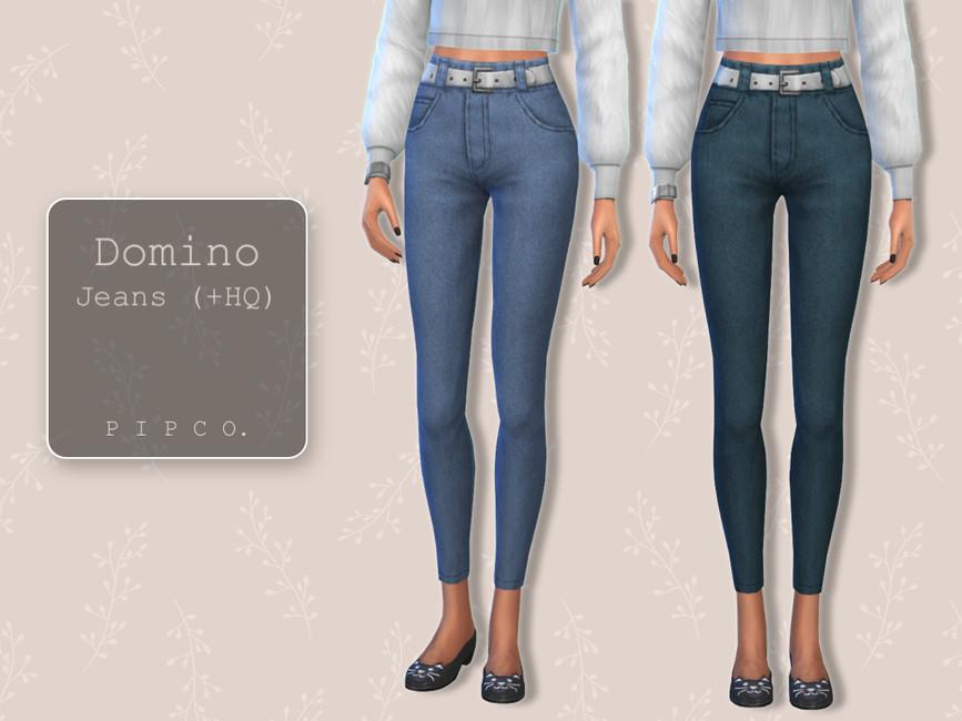 Джинсы Domino Jeans Симс 4
