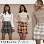 Наряд Darlene Outfit Симс 4