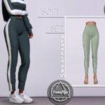 Спортивные штаны Sofi Set - Sweatpants Симс 4