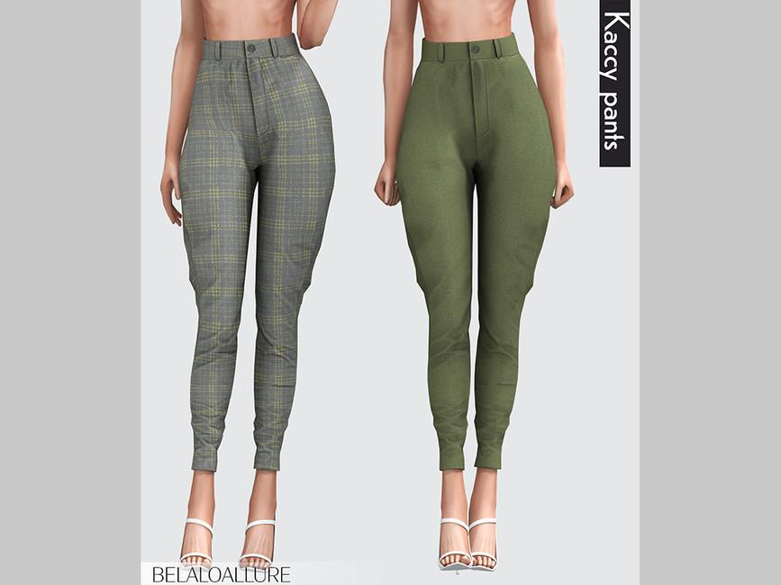 Женские брюки Kaccy Pants Симс 4